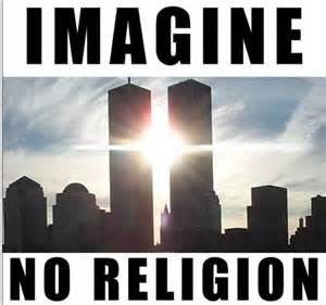 imaginenoreligiontwintowers